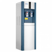 Кулер для воды напольный Smixx 16 LD/E голубой с серебром