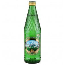 Минеральная вода «Нарзан» натуральной газации 0,5 л. (стекло)